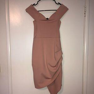 Blush Pink sweet heart mini dress